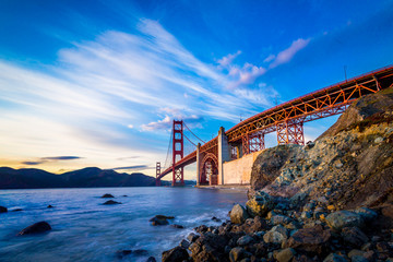Fotomurales - San Francisco Golden Gate Bridge