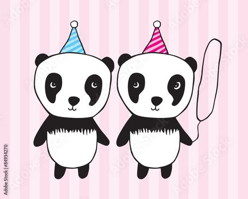 Happy Birthday Illustration For Children Girl Boy Graphics