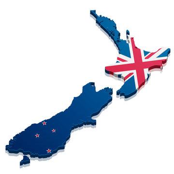 Map New Zealand