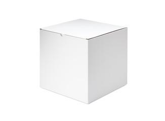 ホワイトボックス/段ボールで出来ている白い箱