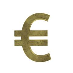 Euro Zeichen - 3d Render