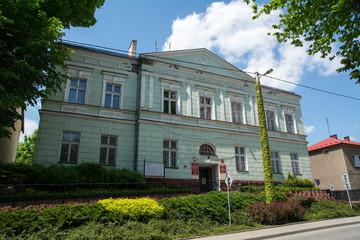 City Hall in Krzeszowice (Poland)