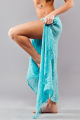 Стройные женские ноги
