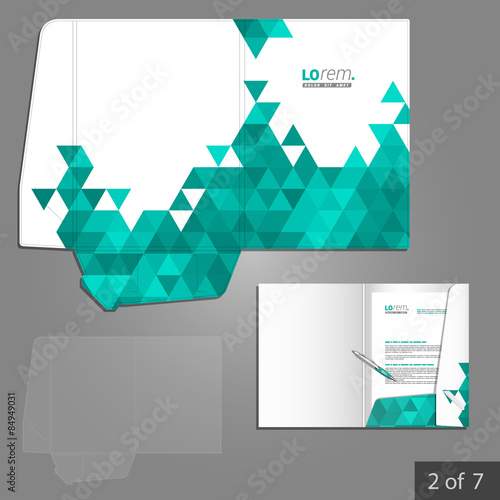 folder template design stock image and royalty free vector files on