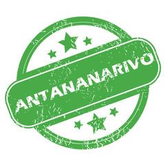 Antananarivo green stamp