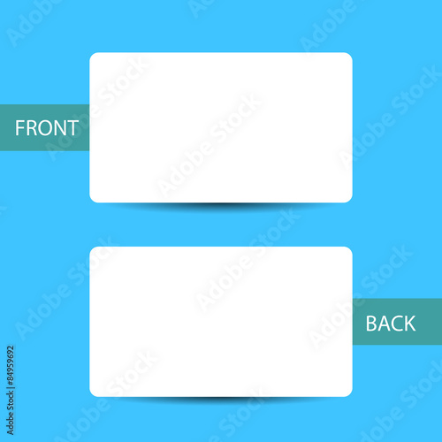 Business Card Blank Template