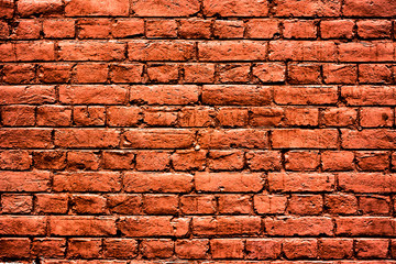 red brick wall high resolution texture