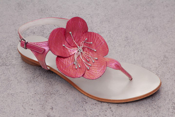 beautiful pink sandal