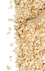 Oat, oatmeal, background.