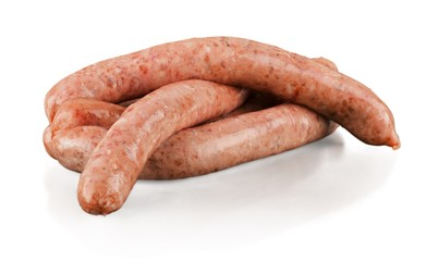 Sausage, Raw, Meat.