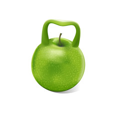 Weight apple.