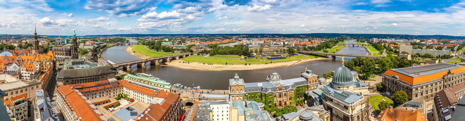 Fotomurales - Panoramic view of Dresden
