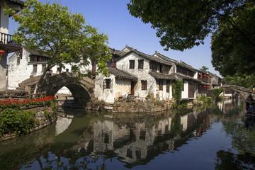 江南水郷 周荘の双橋