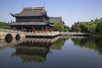 江南水郷  周荘の全福寺