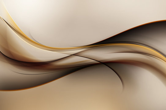 Amazing Brown Modern Abstract Background