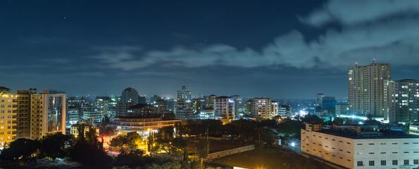 Downtowm Dar Es Salaam at Night