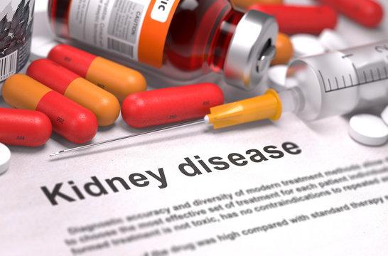 Kidney Disease - Medical Concept.
