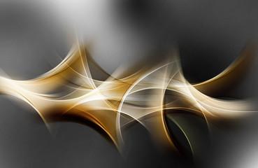 Elegant Light Gold Abstract Design
