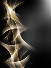 Gold Light Abstract Design