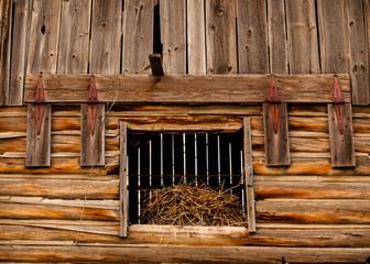 Hay Loft Door from old log barn