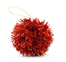 red decoration ball