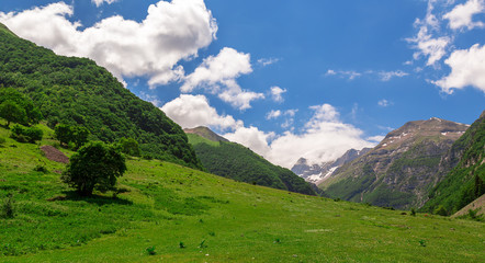 mountain landscape - Sibillini Mountains