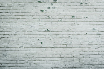 Texture. Brick. Wall. A background with attritions and cracks