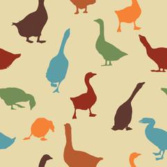 Geese pattern