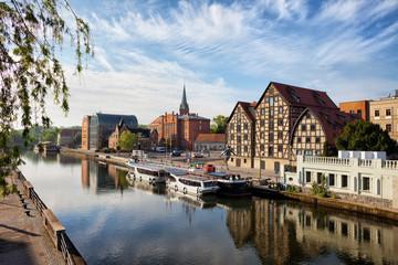 Obraz City of Bydgoszcz in Poland - fototapety do salonu