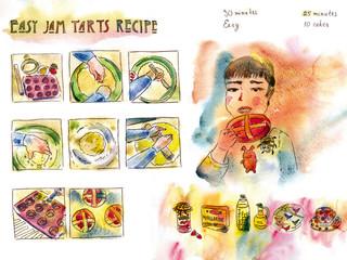 Easy jam tarts recipe