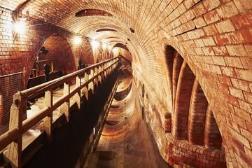 Old sewage treatment plant