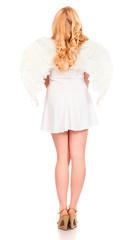 Portrait Of Angel Woman