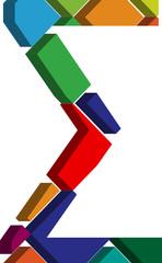 3d font symbol
