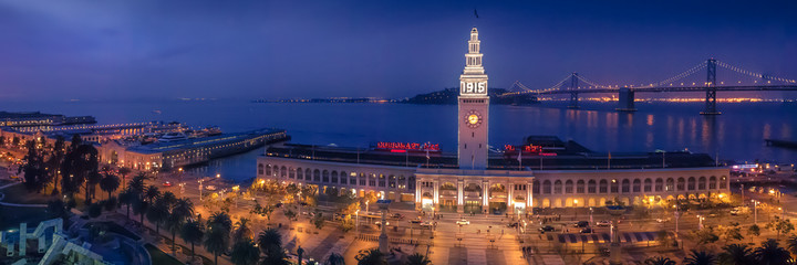 Photo sur Plexiglas San Francisco San Francisco Ferry Building