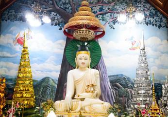 Marble Buddha images