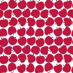 seamless pattern apple りんごのパターン