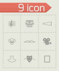 Vector Culture icon set