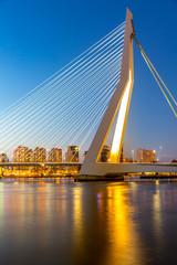 Wall Mural - Erasmus bridge Rotterdam