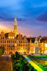 Brussels Cityscape Belgium