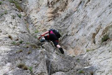 Klettersteig Türkensturz : Bergfex bucklige welt auf dem pittentaler klettersteig zum