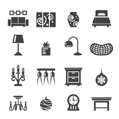 home decoration icons
