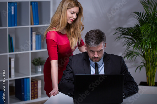 Free office seduction porn