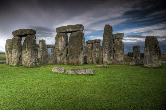 Mythical Stonehenge in England