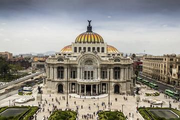 Foto auf AluDibond Kunstdenkmal PALACIO DE BELLAS ARTES / ubicado en el centro histórico de la cuidad de México es la casa máxima de la expresión de la cultura.
