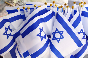 Israel national flags