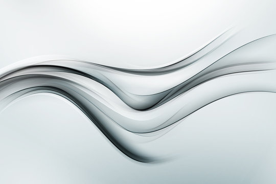 Modern Grey Silver Abstract Background