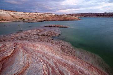 Fototapete - Lake Powell Landscape