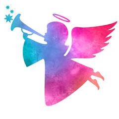 watercolor_silhouette_of_an_angel_watercolor_painting_on_white_b
