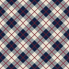 Seamless Scotland check pattern background.
