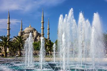 Istanbul Sultanahmet mosque, Turkey.